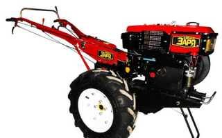 Мотоблок Заря обеспечит быструю и качественную обработку почвы