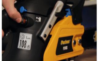Бензопилы Partner (Партнер) P340S — особенности, характеристики