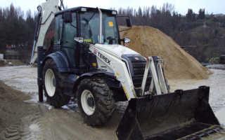 Тракторы Терекс (TEREX): описание и характеристики
