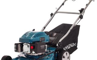 Качество, производительность, надежность – это газонокосилки «Hyundai»