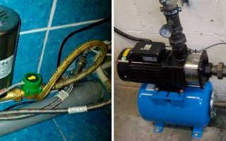 Насосы для повышения давления воды – устройство, виды и самостоятельное изготовление