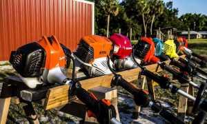 Триммер + колеса – это лучшее решение для большого газона