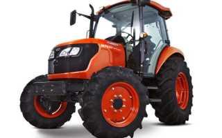 Тракторы Кубота (Kubota): краткий обзор оборудования