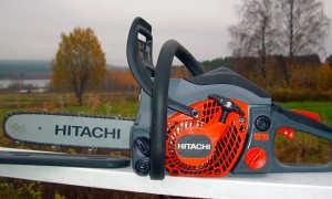 Бензопилы Hitachi – конструктивные особенности и характеристики популярных моделей