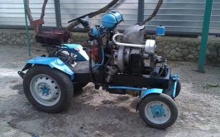Минитрактор из Оки – самодельная, экономичная сельскохозяйственная техника