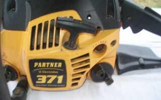 Бензопилы Partner (Партнер) 371 — характеристики, регулировка