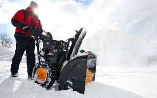 Снегоуборщики Partner (Партнер) — не позволит снег застать вас врасплох