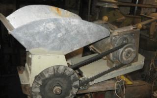 Измельчитель для веток и сучьев – устройство, виды и изготовление самодельного агрегата