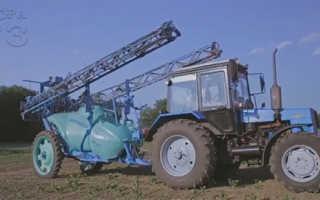 Тракторные навесные опрыскиватели