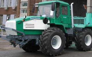 Конструктивные особенности и характеристики трактора Слобожанец