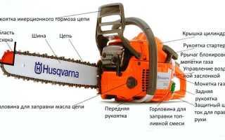 Бензопилы Husqvarna 236 — характеристики, комплект поставки