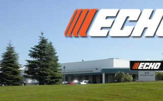 Бензопилы Echo – регулировка карбюратора и описание популярных моделей