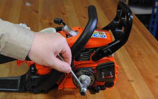 Устройство и ремонт сцепления бензопилы