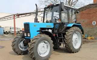 Трактор МТЗ-82: устройство, характеристики