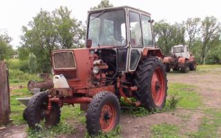 Трактор ЮМЗ – опора и уверенность сельского хозяйства