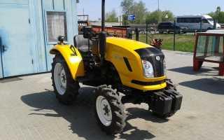 Китайские тракторы Донг Фенг – особенности конструкции и характеристики