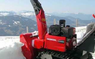 Снегоуборщики Honda (Хонда): описание и характеристики