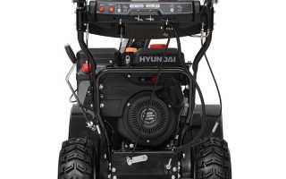 Снегоуборщики Hyundai (Хендай): обзор характеристик моделей