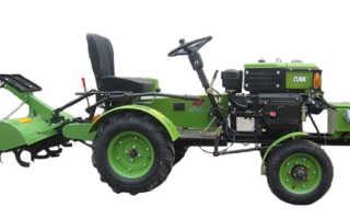 Тракторы Зубр (Zubr) JR-Q 12Е