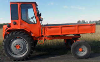 Трактор Т-16 – особенности модификаций «Шассика»