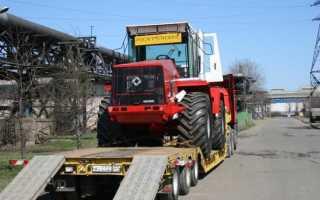 Трактор К-744 — четвертое поколение «Кировцев»