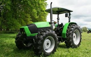 Тракторы Дойц фар (Deutz Fahr) и модельный ряд этих универсальных машин