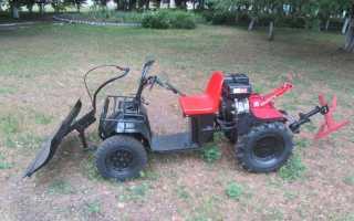 Переделка мотоблока в трактор – критерии выбора подходящей модели