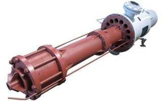 Конструкция, виды и области применения полупогружных насосов