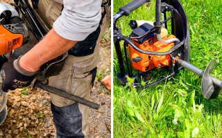 Мотобуры «Iron mole» – это решение многих проблем при выполнении земляных работ