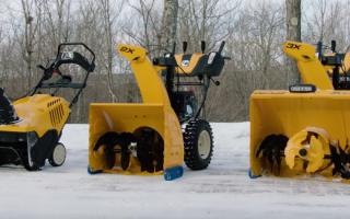 Снегоуборочная техника Калибр – достойный конкурент на рынке снегоуборщиков