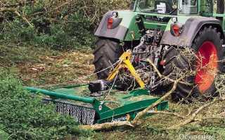 Косилки и кусторезы для трактора