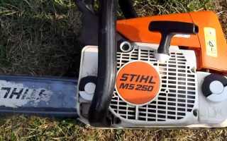 Бензопила Stihl (Штиль) MS 250 — регулировка, характеристики