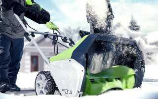 Снегоуборочная электролопата – простая машина для уборки снега, как и все гениальное