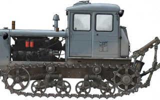 Универсальный трактор т 74 с богатой историей и обширными возможностями