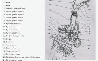 Ремонт мотоблока Крот своими руками: наиболее частые неисправности
