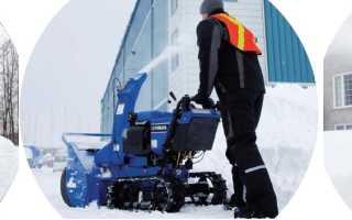 Снегоуборщики Yamaha – надежные помощники в уборке снега