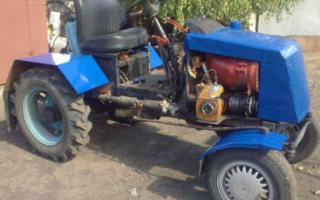 Трактор своими руками из Уаза