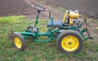 Особенности конструкции и принцип сборки трактора из Запорожца