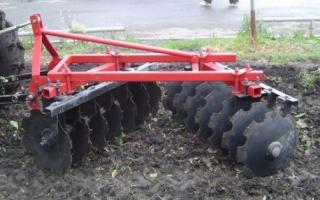Бороны и грабли для мини-трактора – особые разновидности навесных приспособлений